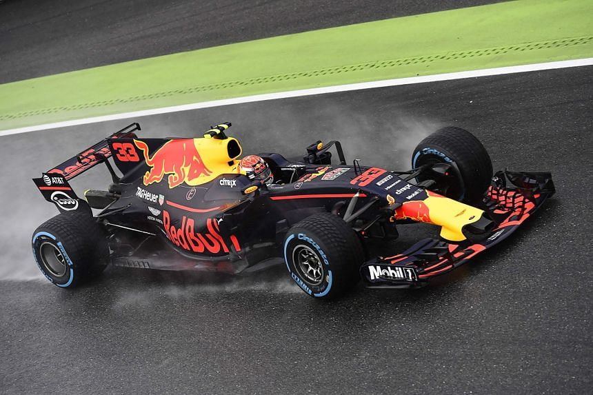 Red Bull's Max Verstappen driving during the qualifying session ahead of the Italian grand prix.