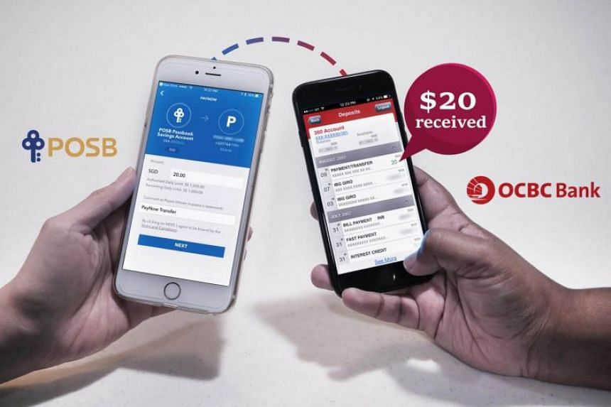 Through PayNow, users of different banks can quickly transfer money to other users using their mobile phone number.