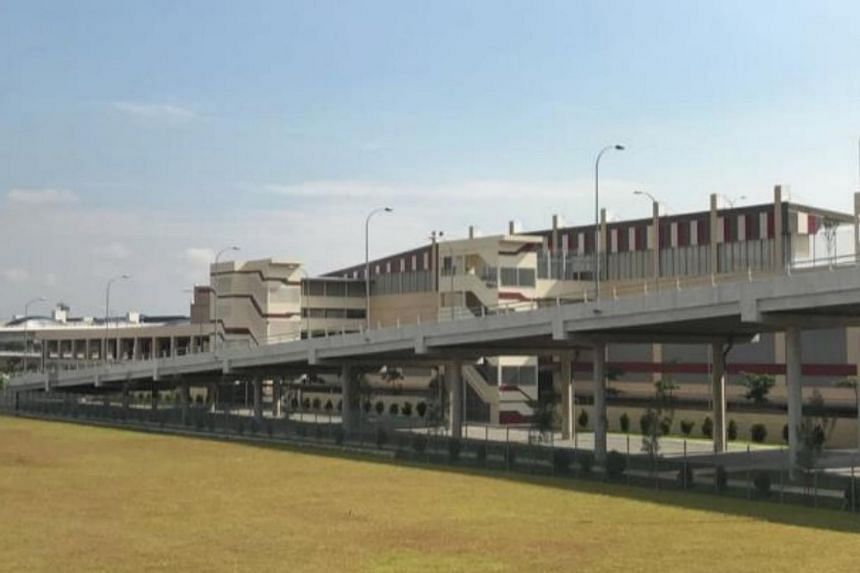 New Tuas Bus Terminal has access ramps leading to Tuas West Drive and Tuas Link 4.