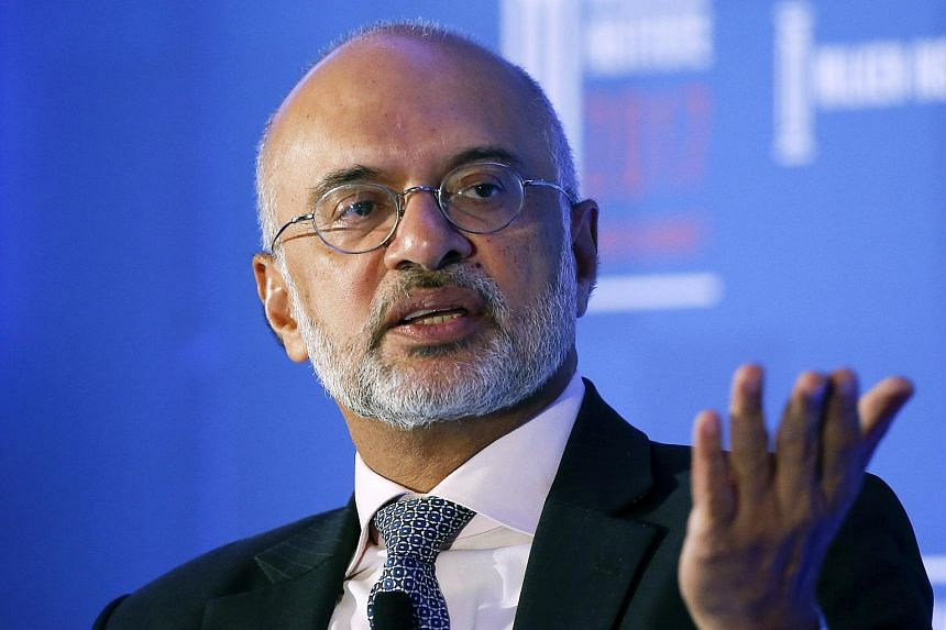 Mr Piyush Gupta, chief executive officer of DBS Group Holdings Ltd,  at the Milken Institute Asia Summit in Singapore, on Sept 14, 2017.