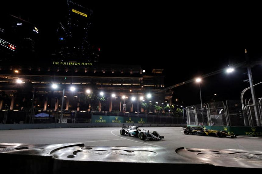 Singapore will continue to host the Singapore Grand Prix for the next four years.