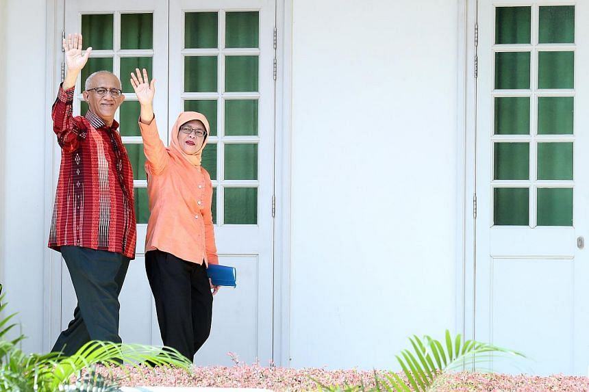 Madam Halimah Yacob pledged to be a President for all Singaporeans, regardless of race, language or religion.