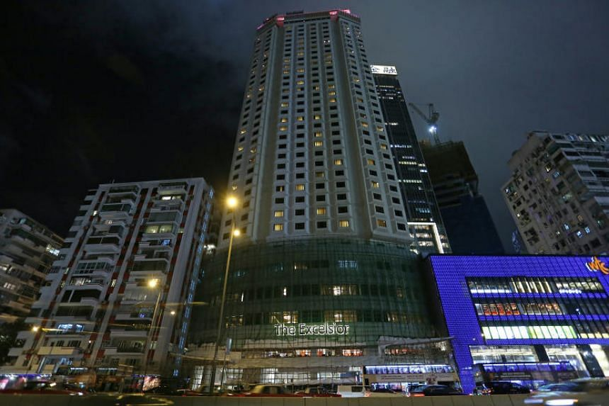 A file picture of the Excelsior in Causeway Bay, Hong Kong. PHOTO: SOUTH CHINA MORNING POST