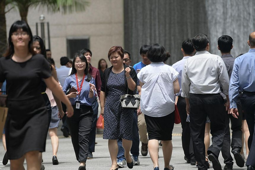 The Manpower Ministry's figures showed fewer workers were retrenched in the first half of this year, and that more local residents were working.