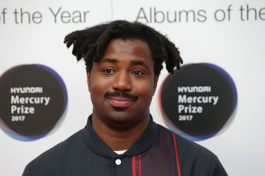 Singer-songwriter Sampha arrives at the 2017 Mercury Music prize awards ceremony in central London on Sept 14, 2017.