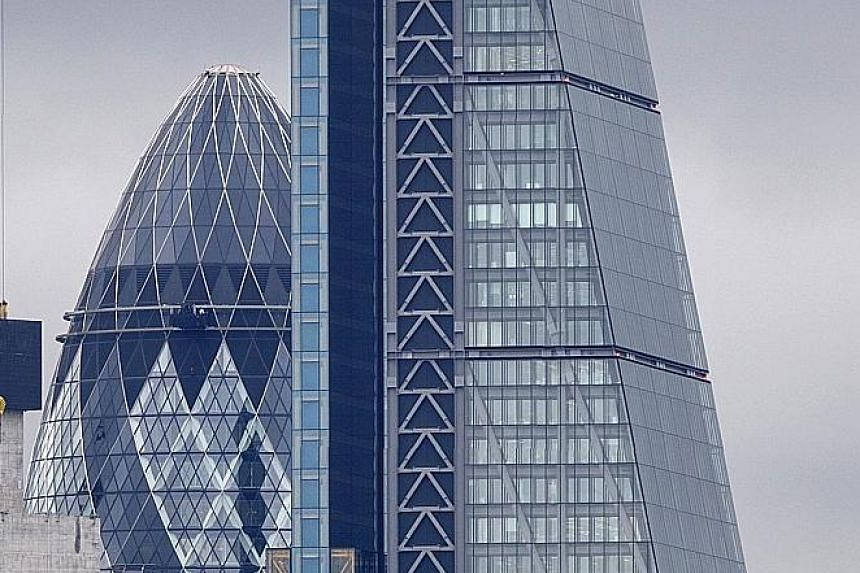 More than 800 buildings, including one nicknamed The Cheesegrater (above right), in British capital London will open their doors to the public this weekend for Open House.