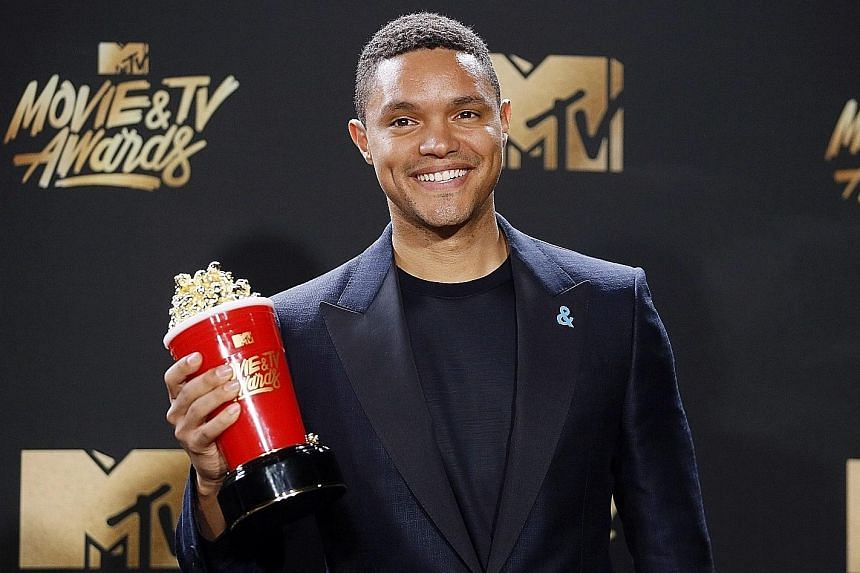 Trevor Noah, who won the best host award at the MTV Movie and TV Awards in May, succeeded Jon Stewart at The Daily Show in September 2015.
