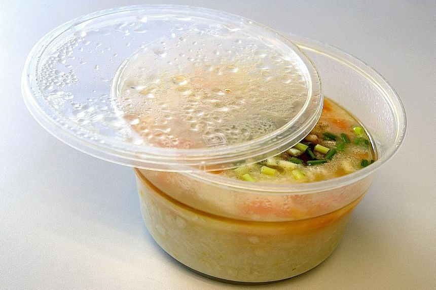 Consumers are advised to follow manufacturers' instructions on the proper use of plastic containers and their suitability for storage of hot food.
