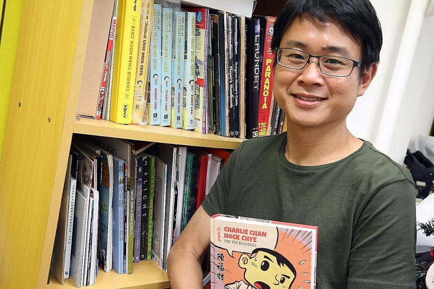 Sonny Liew decided not to take the NAC grant so that he could untangle himself from the compromises of state funding.