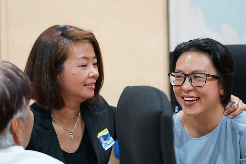 Photos of Carmen in her parents' Taman Hutchings home in Penang. The nursing student died suddenly from an arterial rupture in her brain in 2015. Carmen Mark's parents Ariess Tan and Mark Kok Wah listening to a recording of their daughter's heart bea