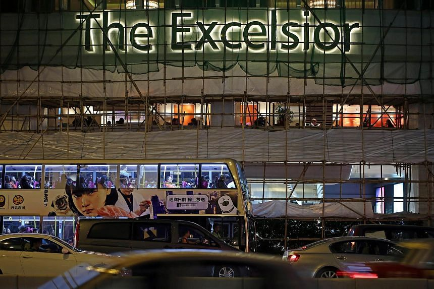 The Excelsior Hong Kong in Causeway Bay.