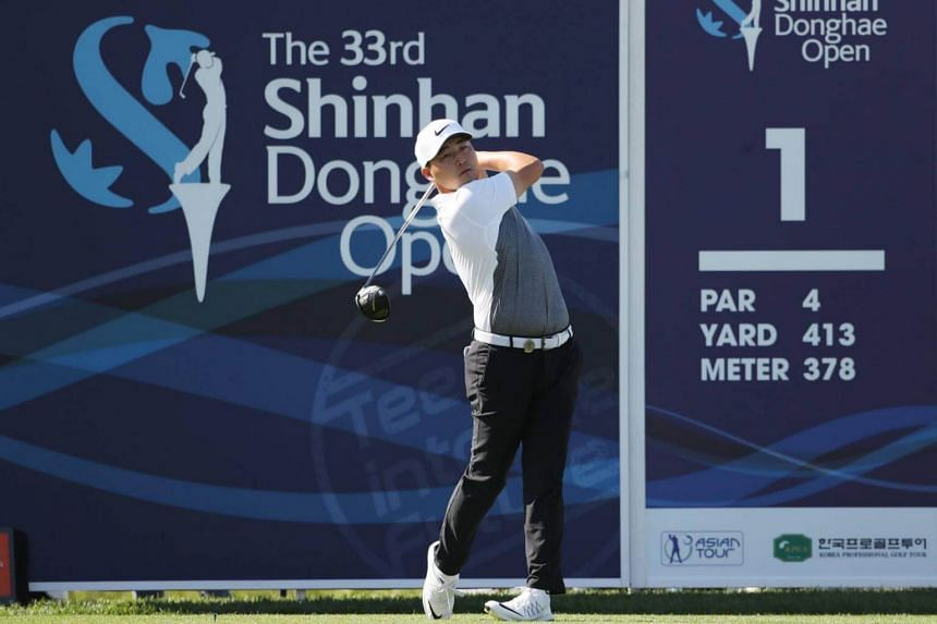 Canadian Richard T. Lee defeated Malaysia's Gavin Green by one stroke to win the Shinhan Donghae Open in South Korea on Sunday (Sept 17).