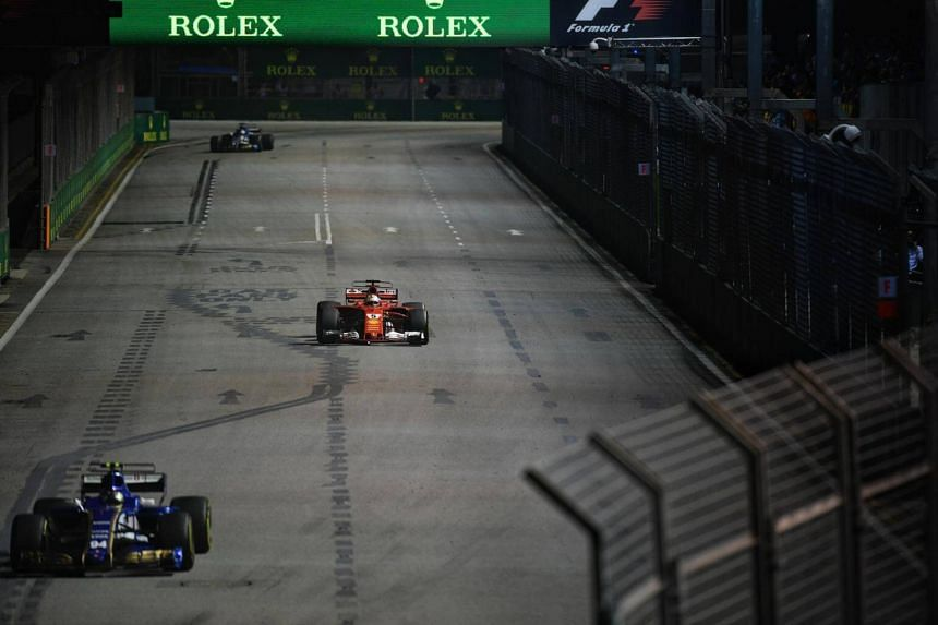 Race organisers Singapore GP said on Sunday (Sep 17) that they are investigating an alleged breach in track security at the Marina Bay Street Circuit.