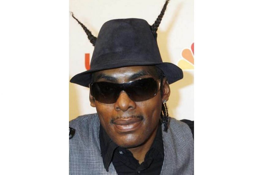 American rapper Coolio, whose real name is Artis Leon Ivey, had arrived in Singapore this morning from Beijing on a re-scheduled flight after missing a connection.