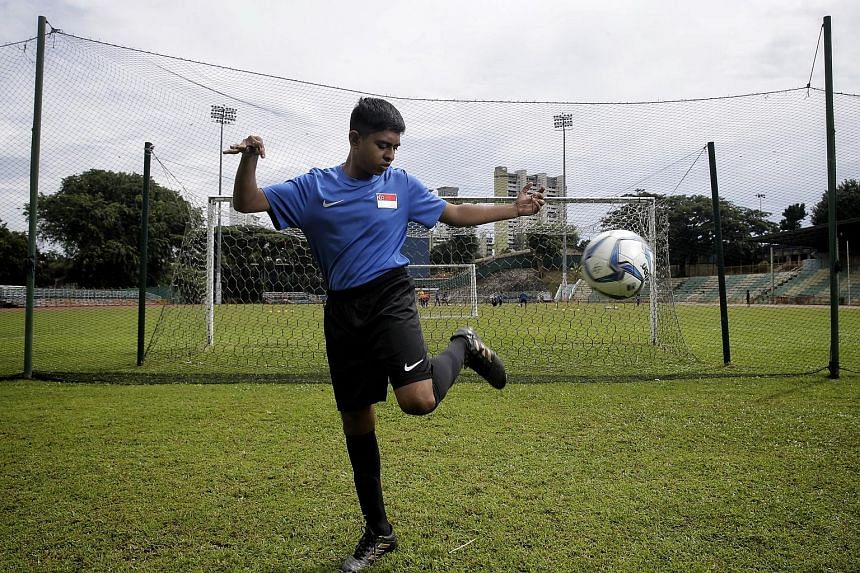 Pranav C. Balu will compete in his maiden Asean Para Games, which start in Kuala Lumpur today. The striker knows that expectations are high for the national cerebral palsy football team, who won bronze in the 2015 Games in Singapore. However, he beli