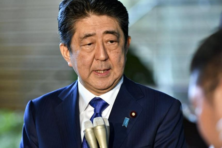 Mr Shinzo Abe's ratings have recovered to the 50 per cent level in some polls.