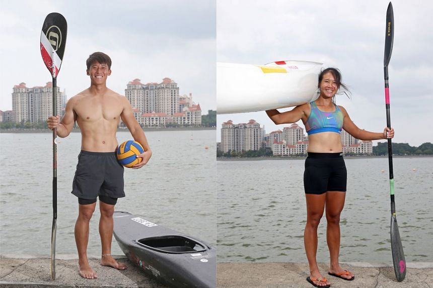 Ong Han Loong(Left) and Deborah Saw(right)