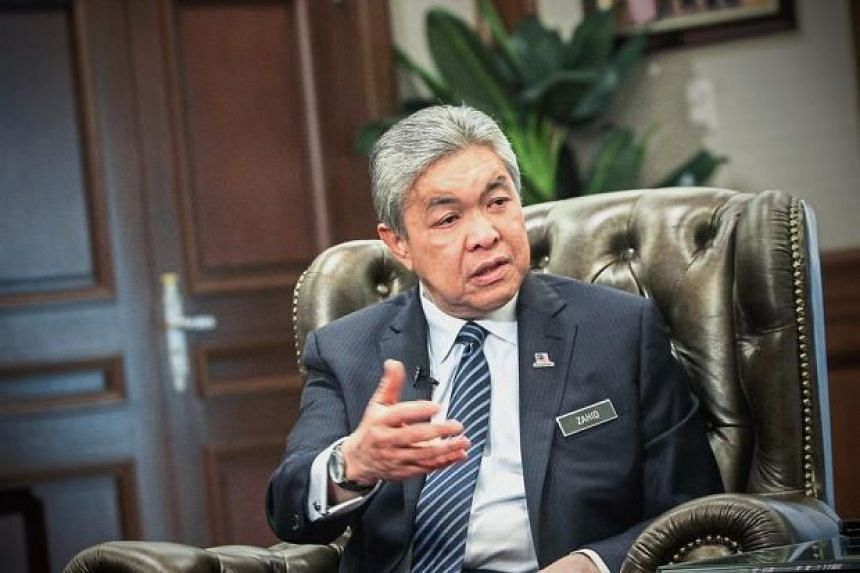 Deputy Prime Minister Ahmad Zahid Hamidi has called on those spreading fake news about the announcement to stop doing so. PHOTO: THE STAR/ASIA NEWS NETWORK