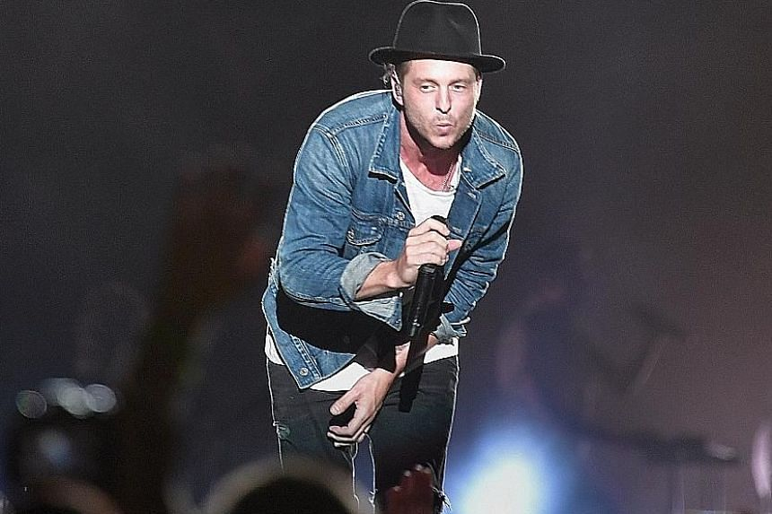 Aside from their hits, OneRepublic frontman Ryan Tedder also sang songs he wrote with other musicians, such as Rumour Has It by Adele and Halo by Beyonce.