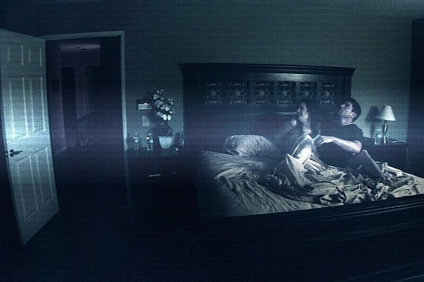Producer Jason Blum changed his career in 2007 with Paranormal Activity (above), which had been put together for US$15,000 and grossed US$193 million worldwide.
