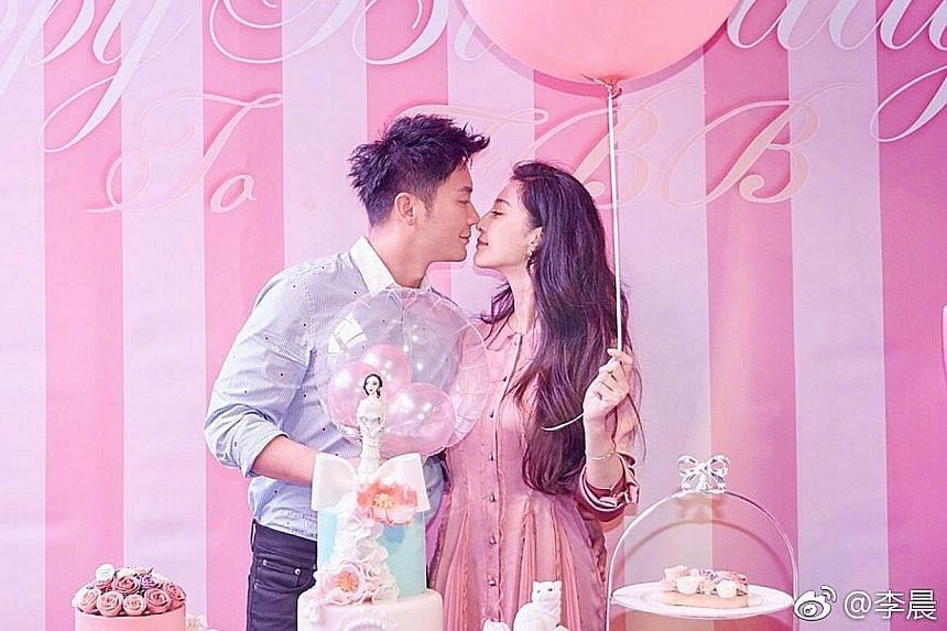 Actor Li Chen proposed to actress Fan Bingbing at her 36th birthday party last Saturday.