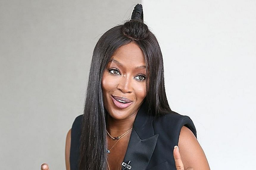 Naomi Campbell will model and act for as long as she can because she sees the need for racial diversity in the fashion industry.