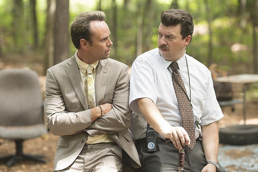 Vice Principals, starring (from far left) Walton Goggins and Danny McBride, returns for a final season.