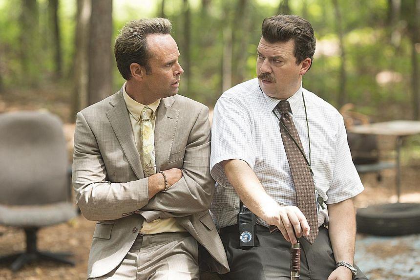 Vice Principals, starring (from far left) Walton Goggins and Danny McBride, returns for a final season.