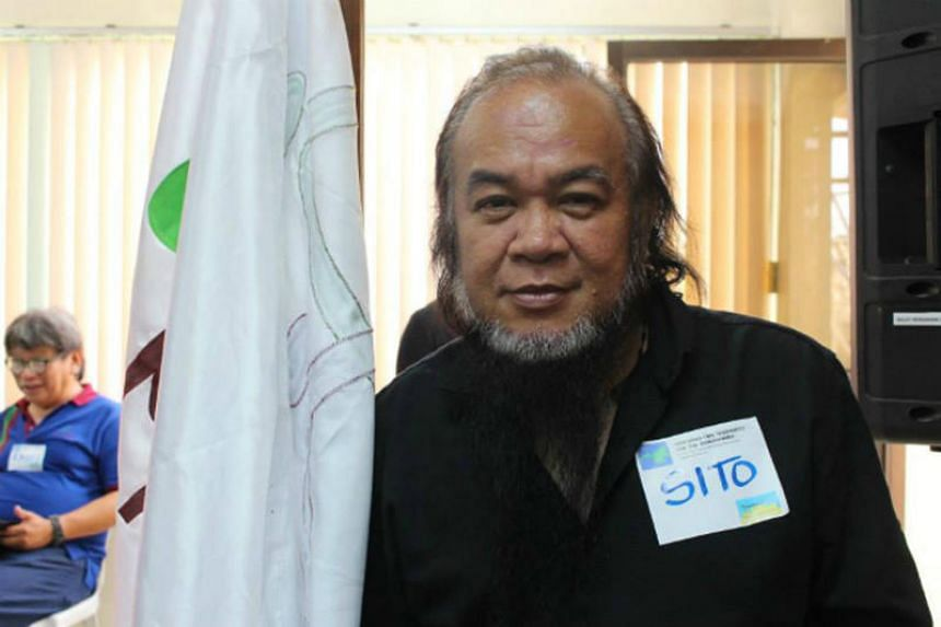 """Father Teresito """"Chito"""" Soganub, the vicar-general of Marawi, was rescued by Philippine security forces after being held for nearly four months by Muslim militants who have besieged the southern city of Marawi."""