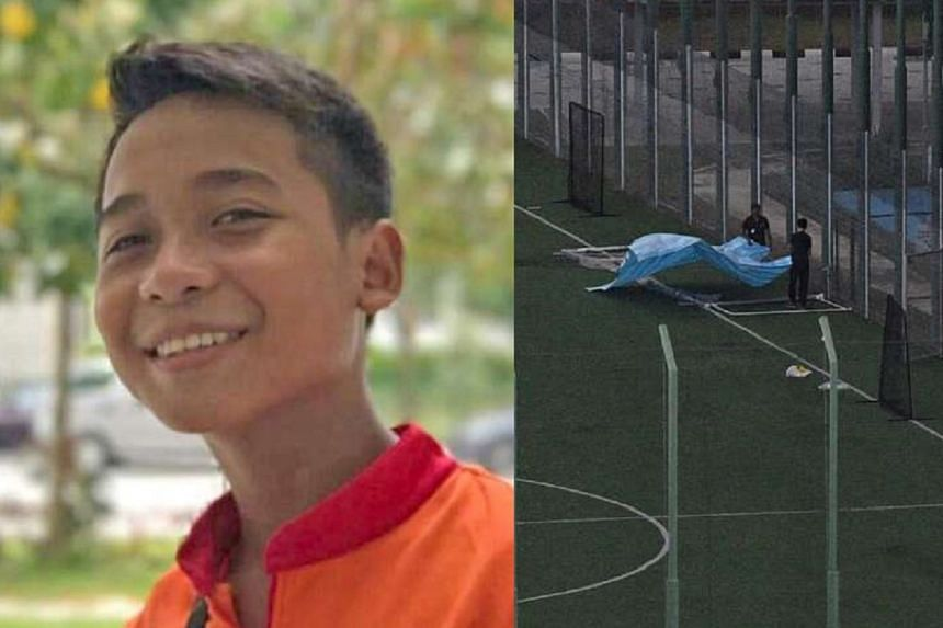 Muhammad Hambali Sumathi, a Secondary 1 schoolboy at Geylang Methodist Secondary School, died after being struck by a goal post during a physical education class on April 24.