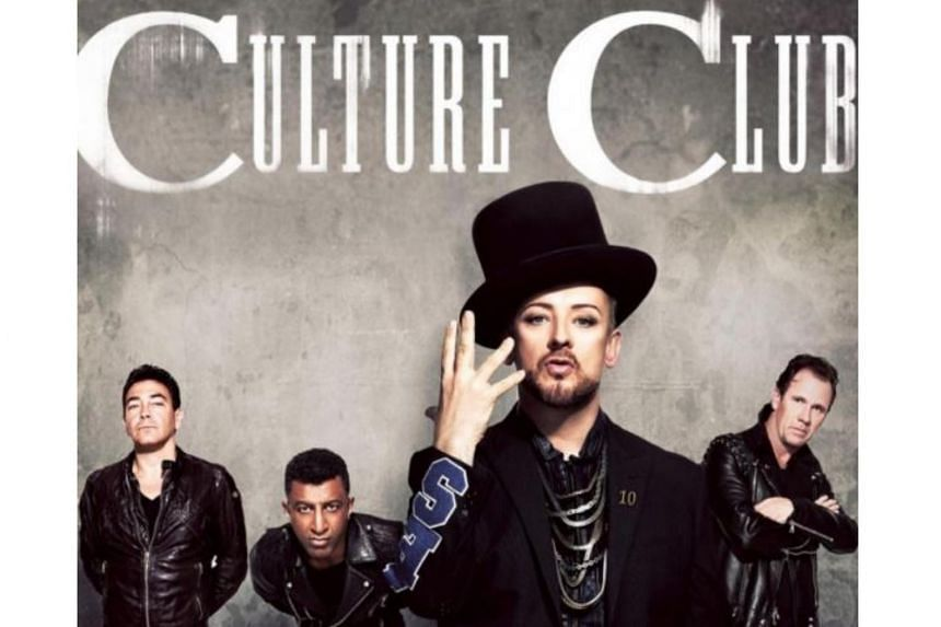 Culture Club will be performing in Singapore on Dec 11 at The Star Theatre.