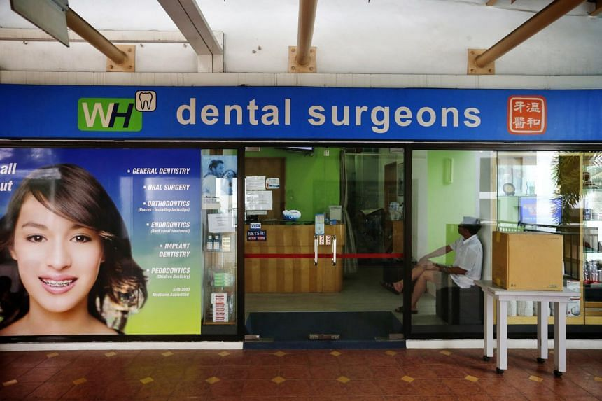 WH Dental Surgeons, where Dr Sng Wee Hock, Dr Jun Soo Lee and Dr Park Seunghyun worked.