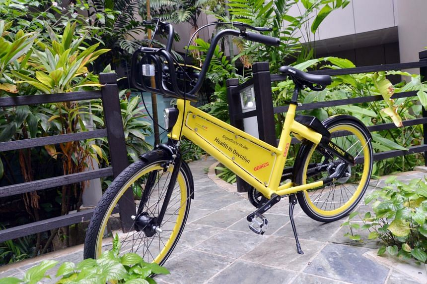 GBikes has been operating in Singapore since May.