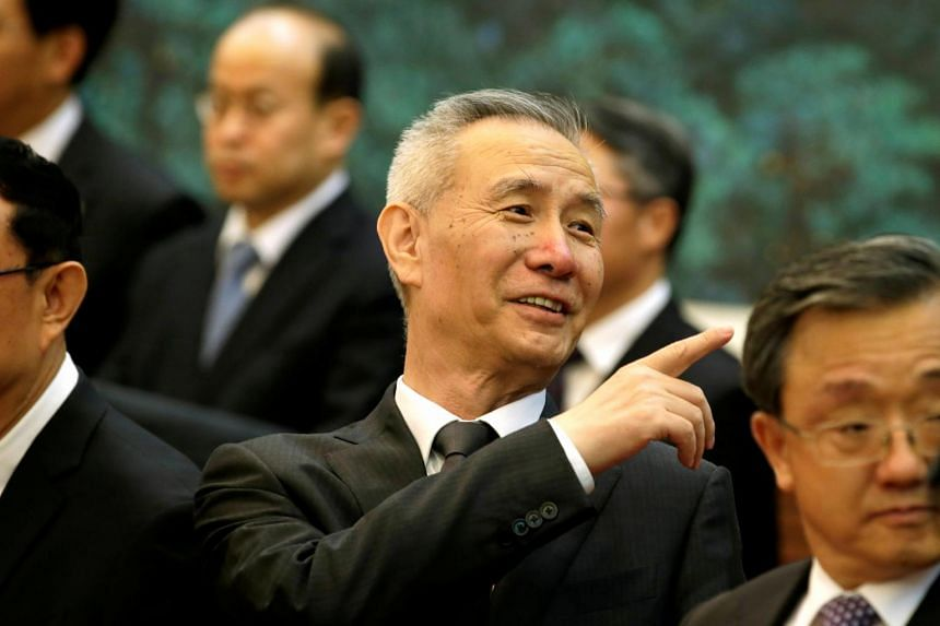 Liu He, director of the Office of the Central Leading Group on Financial and Economic Affairs.