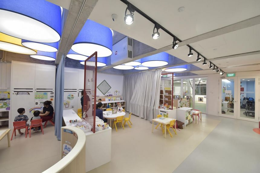 Nursery interiors at Tots and Teddies, with rooms come with a premium ozone-free true-HEPA air cleaners from IQAir.