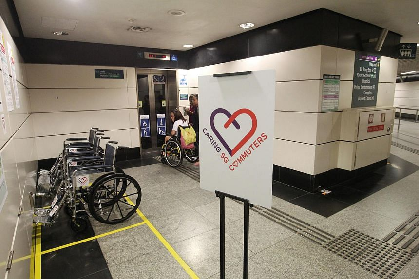 The Heart Zone and Heartwheels trials at Outram Park MRT station have been extended until Dec 31, due to positive feedback.