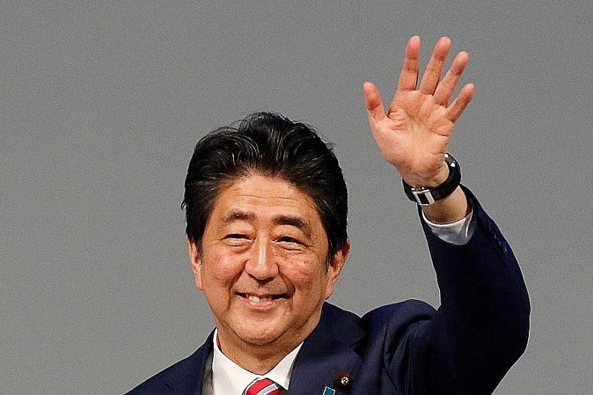 Japanese Prime Minister Shinzo Abe is scheduled to speak at the UN General Assembly in New York tomorrow.