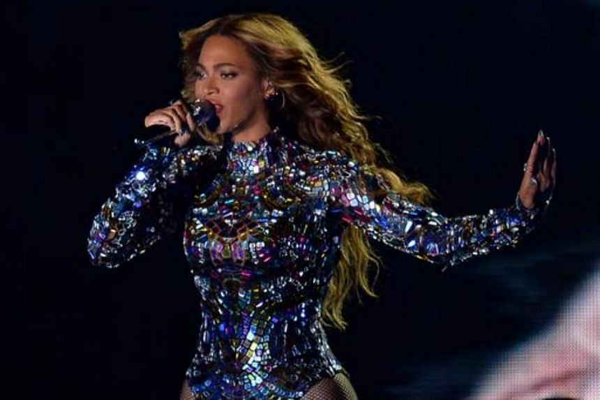 Beyonce performs onstage at the MTV Video Music Awards (VMA), at The Forum in Inglewood, California, on Aug 24, 2014.