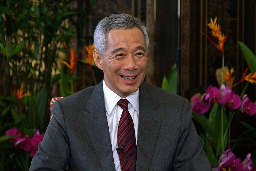 Prime Minister Lee Hsien Loong in an interview with Xinhuanet at the Istana, ahead of his official visit to China, on Sept 16, 2017.