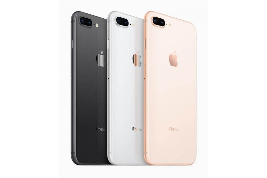 The iPhone 8 and 8 Plus now come in three different colours - space grey, silver and gold.