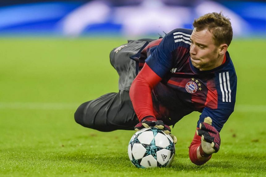 Bayern Munich captain and Germany goalkeeper Manuel Neuer had only returned at the end of August after fracturing the same foot in April.