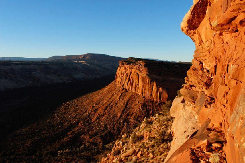 Spectacular views mark the Comb Ridge in Utah's Bears Ears area of the Four Corners Region, Utah, Dec18, 2016.