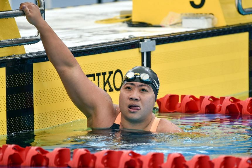 Theresa Goh won her 30th overall APG medal by winning the SB4 100m breaststroke at the Kuala Lumpur APG.