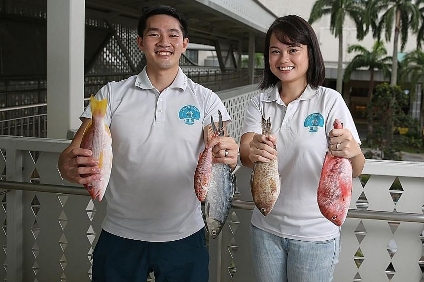 Mr Jeffrey Tan and Ms Angeline Ong find that working on a cloud system and having their information systems intertwined and communicating with one another have really helped their business. They will open a shop at West Coast Plaza, where there will