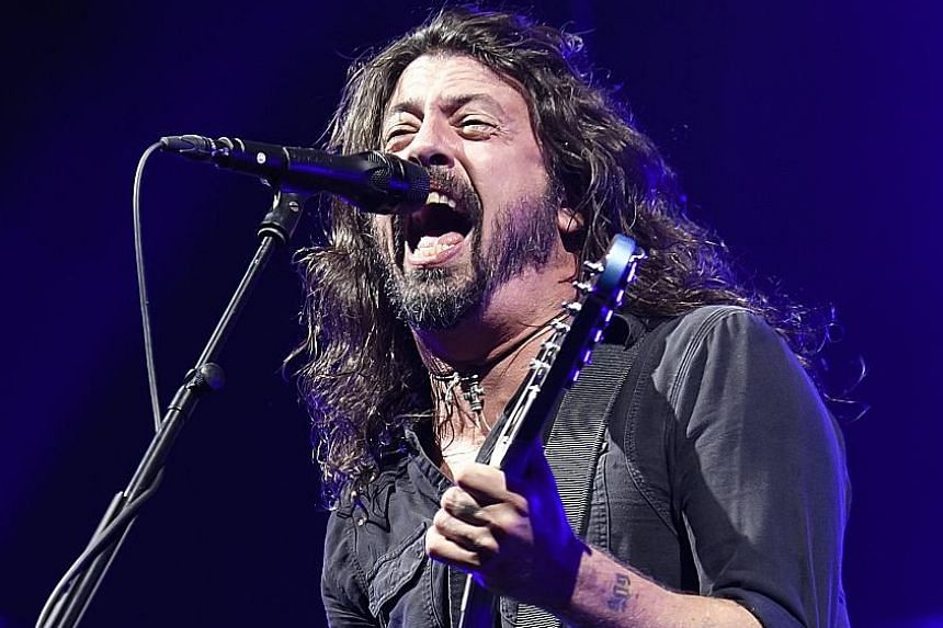 Frontman Dave Grohl's distinctive voice gives the album the trademark Foo Fighters stamp.