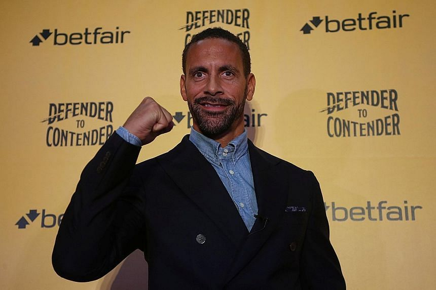 Former England captain Rio Ferdinand yesterday, after the 38-year-old said he would launch a bid to become a professional boxer.