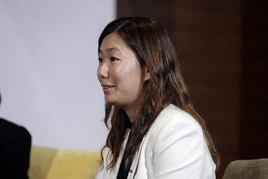 Ms Julia Yeo says knowing what you want to do allows you to have a conversation with your firm about what opportunities there are for you.