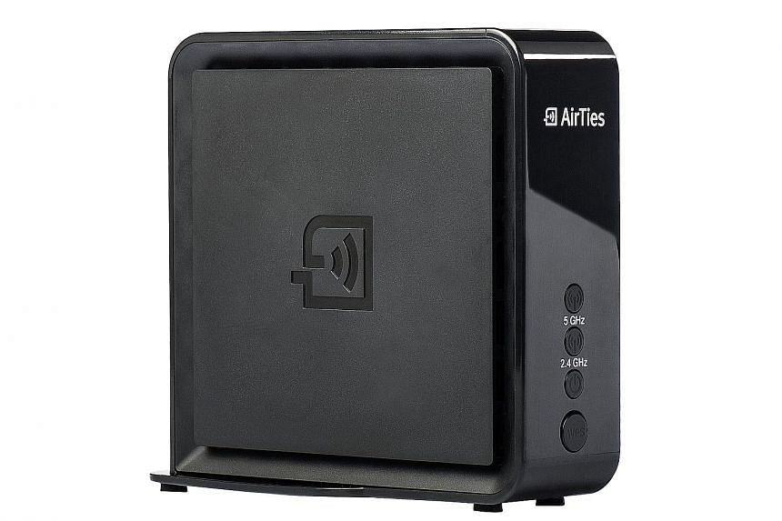The AirTies WiFi Mesh is currently available only to Singtel subscribers. Payment for the system is over two years at $10 per month.