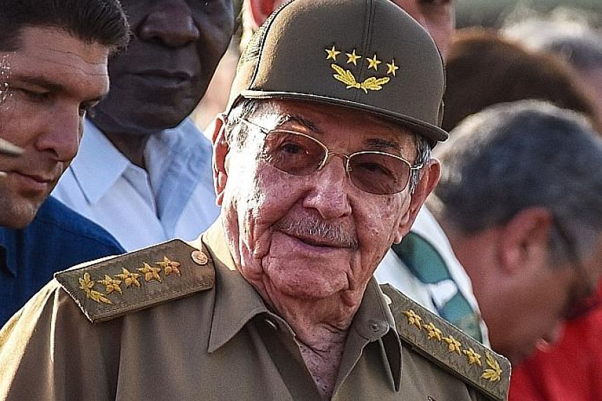 Mr Raul Castro became president of Cuba in 2008 and is expected to step down in February.