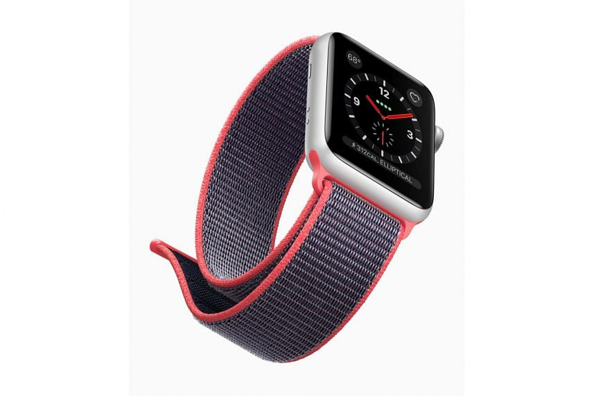 The Apple Watch Series 3 comes in two sizes, in 38mm and 42mm cases.
